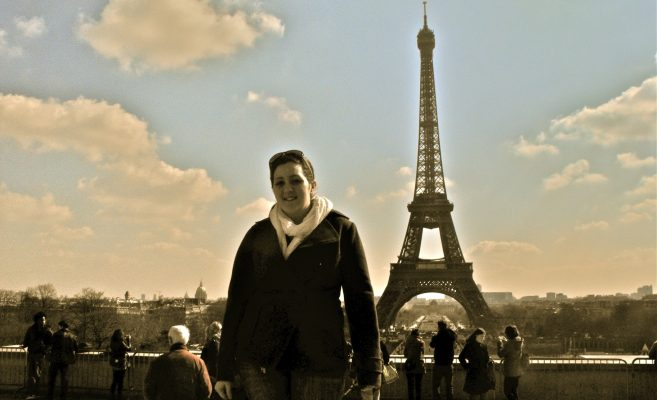 Bethany in Paris 2010